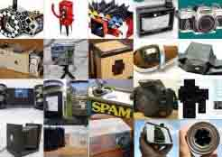 many pinhole cameras that can be built at home